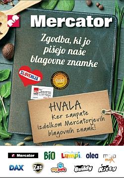 Mercator katalog Trgovske znamke