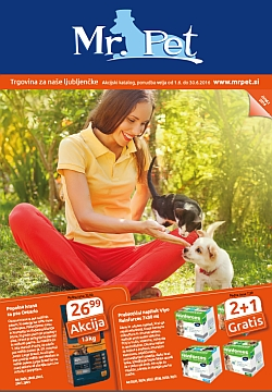 Mr Pet katalog junij 2016
