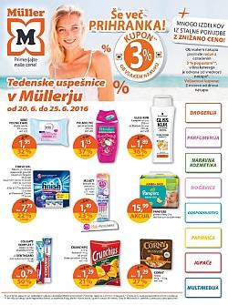 Muller katalog Tedenske uspešnice do 25. 06.