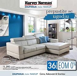 Harvey Norman katalog Prepustite se ugodju