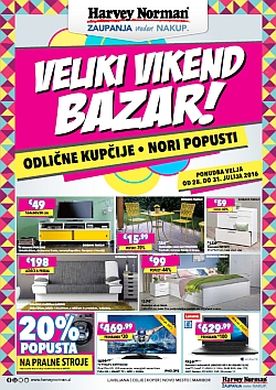 Harvey Norman katalog Veliki vikend bazar