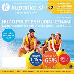 Kuponko katalog julij – avgust 2016