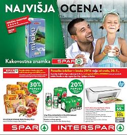 Spar in Interspar katalog do 26. 07.