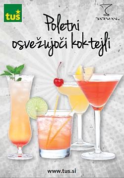 Tuš katalog Poletni osvežujoči koktejli