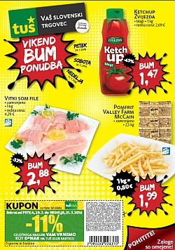 Tuš katalog Vikend BUM akcija do 31. 07.
