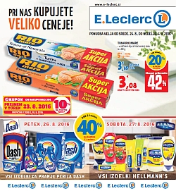 E Leclerc katalog do 04. 09.