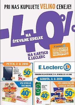E Leclerc katalog Maribor do 11. 09.