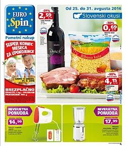 Eurospin katalog do 31. 08.