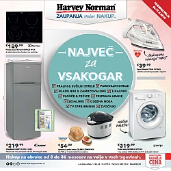 Harvey Norman katalog do 31. 08.