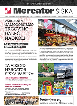 Mercator katalog Šiška do 14. 09.