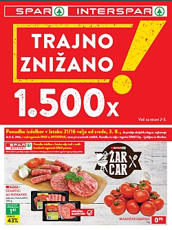 Spar in Interspar katalog do 09. 08.