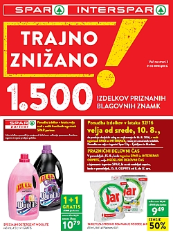 Spar in Interspar katalog do 16. 08.