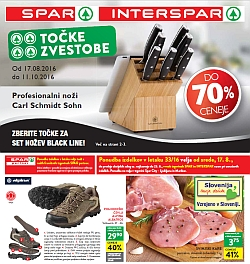 Spar in Interspar katalog do 23. 08.