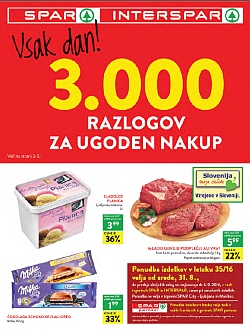 Spar in Interspar katalog do 06. 09.
