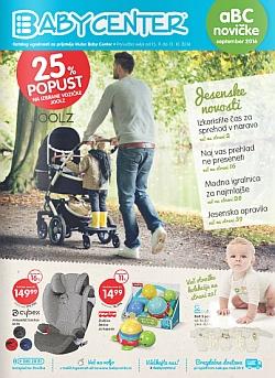 Baby Center katalog september 2016