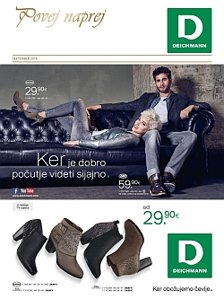 Deichmann katalog september 2016