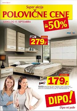 Dipo katalog Polovične cene do 17. 09.