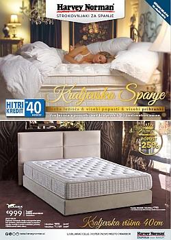 Harvey Norman katalog Kraljevsko spanje