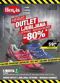 Hervis katalog Outlet Ljubljana