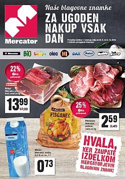 Mercator katalog Blagovne znamke do 06. 10.