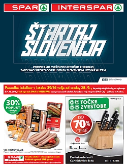 Spar in Interspar katalog do 04. 10.