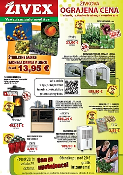 Živex katalog do 05. 11.