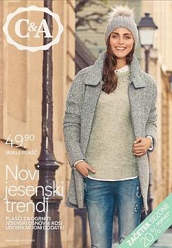 C&A katalog Novi jesenski trendi
