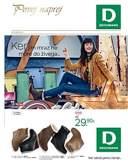 Deichmann katalog oktober 2016