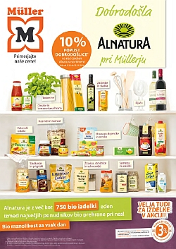 Muller katalog Alnatura do 15. 10.