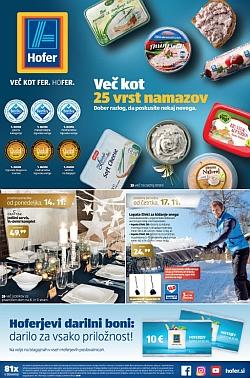 Hofer katalog od 14. 11. in od 17. 11.