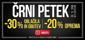 Intersport spletna akcija Črni petek 25. 11.