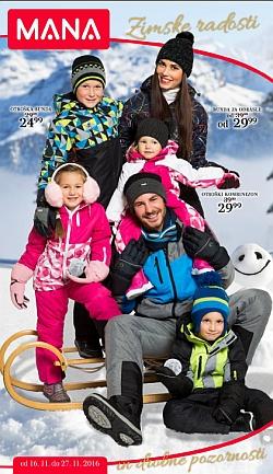 Mana katalog Zimske radosti do 27. 11.