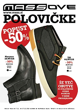 Mass katalog Massove polovičke do 27. 11.