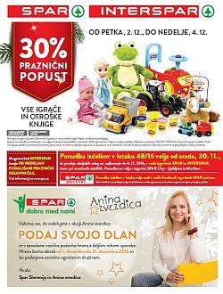 Spar in Interspar katalog do 06. 12.