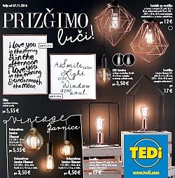 TEDI katalog Prižgimo luči