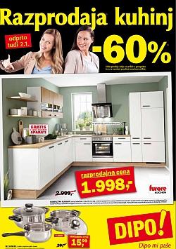Dipo katalog Razprodaja kuhinj do 02. 01.