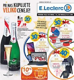 E Leclerc katalog Maribor do 18. 12.