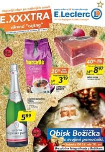 E Leclerc katalog Maribor Exxxtra vikend do 24. 12.