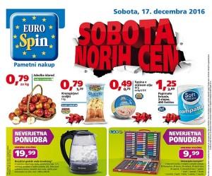 Eurospin sobota norih cen 17. 12.