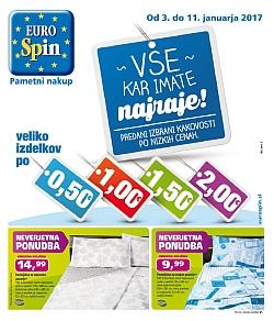 Eurospin katalog do 11. 01.