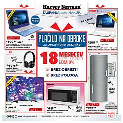 Harvey Norman katalog Za brezskrbne praznike