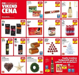 Hofer vikend akcija do 18. 12.