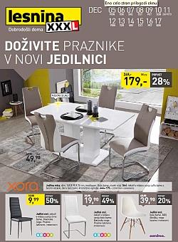 Lesnina katalog Jedilnice do 17. 12.