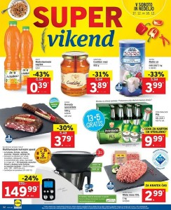 Lidl super vikend do 18. 12.