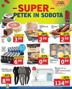 Lidl akcija Super vikend do 24. 12.