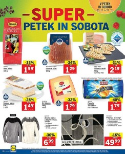 Lidl akcija Super vikend do 31. 12.