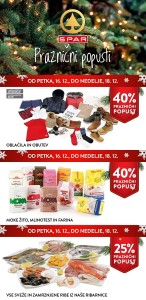 Spar in Interspar vikend akcija do 18. 12.