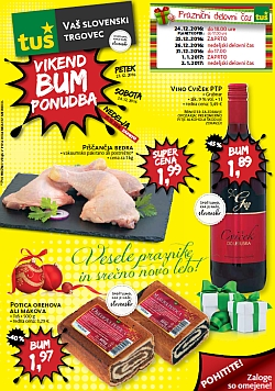 Tuš katalog Vikend BUM akcija do 24. 12.
