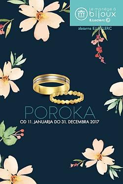 E Leclerc katalog Poroka 2017