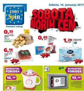 Eurospin sobota norih cen 14. 01.